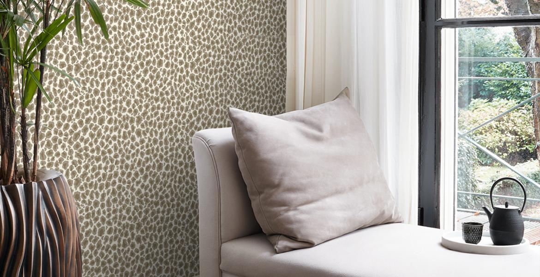 leopard print tapet