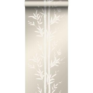 tapet bambus off-hvidt