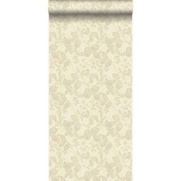 tapet blade beige