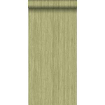 tapet fine striber grønt