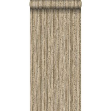 tapet bambus lysebrunt