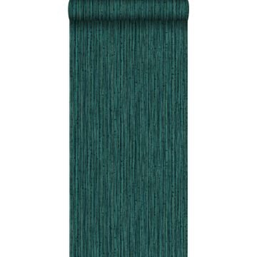 tapet bambus smaragdgrønt