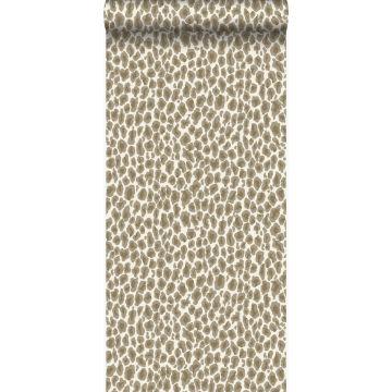 tapet leopardskind beige