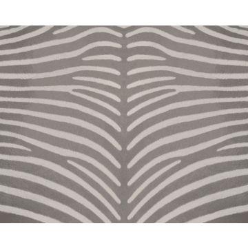 fototapet zebramønster gråt