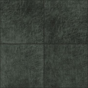 självhäftande väggpaneler eko-läder firkant antracitgråt