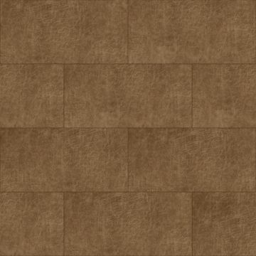 självhäftande väggpaneler eko-läder rektangel cognac brun