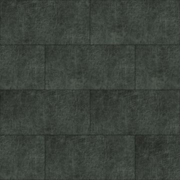 självhäftande väggpaneler eko-läder rektangel antracitgråt