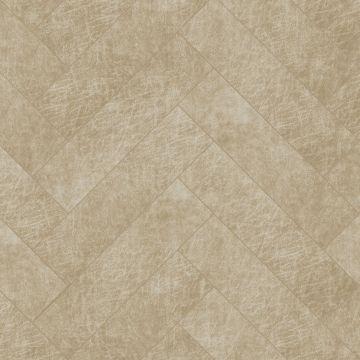 självhäftande väggpaneler eko-läder fiskebensmønster sandfarvet